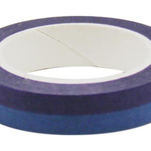 4A Masking Tape,0.4 x 10-inches, Purple & Sapphire,  1 roll