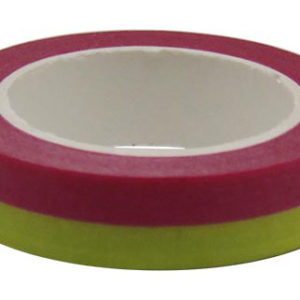 4A Masking Tape,0.4 x 10-inches, Sapphire & Yellow, 1 roll